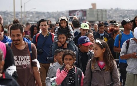 Migrants from Central America walk toward a better life.