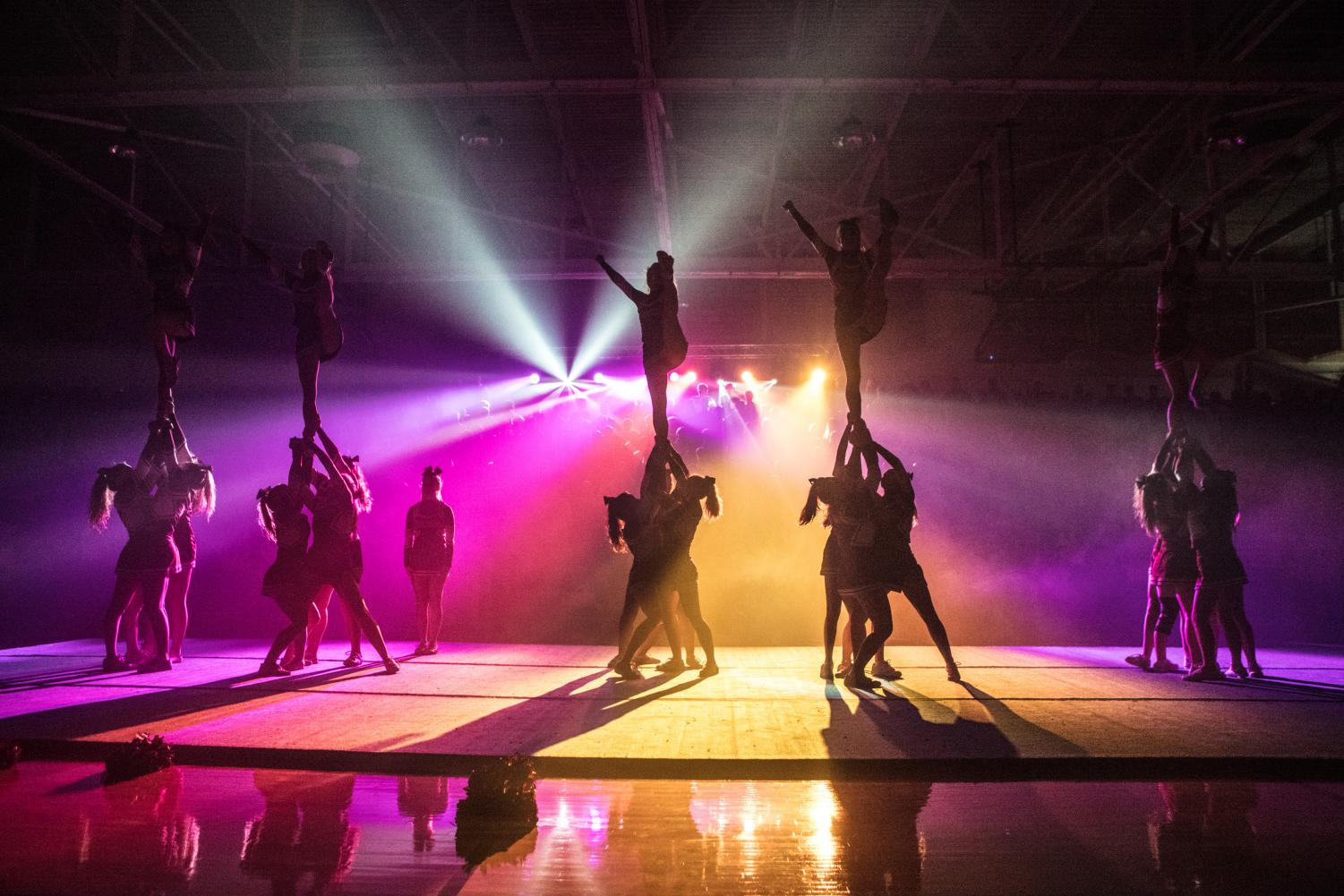 The cheer team's hard work, evident at this year's pep rally, paid off with a trip to State.