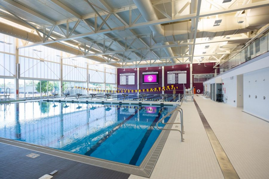 Loyola+opened+its+new+pool+on+Aug+11.+Molly+Ball+and+the+rest+of+the+girls+swim+team+is+loving+their+new+home.+
