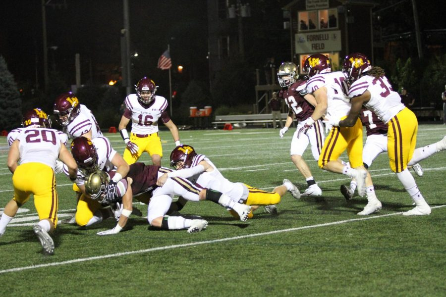 Last year Loyolas defense wrapped up the Ignatian Wolfpack. The Ramblers expect the same results this year.