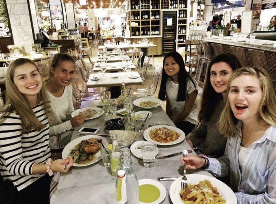 Classics Club members enjoy their 2018 Eataly trip.