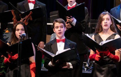 Loyola Performing Arts Spread Holiday Cheer