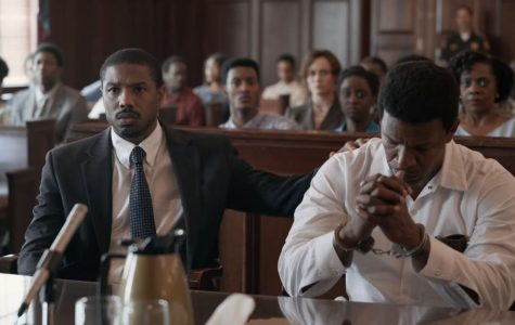 Michael B. Jordan (left) and Jamie Fox (right) in 'Just Mercy'