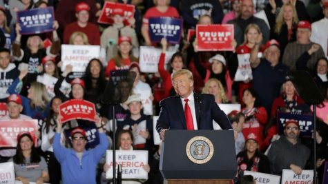 Trump Speaks at a Rally in New Jersey