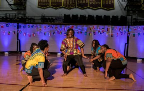AAYG performs a traditional dance for I-Night. The evening showcased the diverse student groups at Loyola.