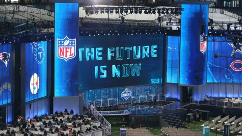 The Draft Stage for the 2018 NFL Draft in Arlington, TX
