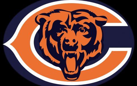 Free image/jpeg, Resolution: 1365x1024, File size: 330Kb, Chicago Bears logo on a black background