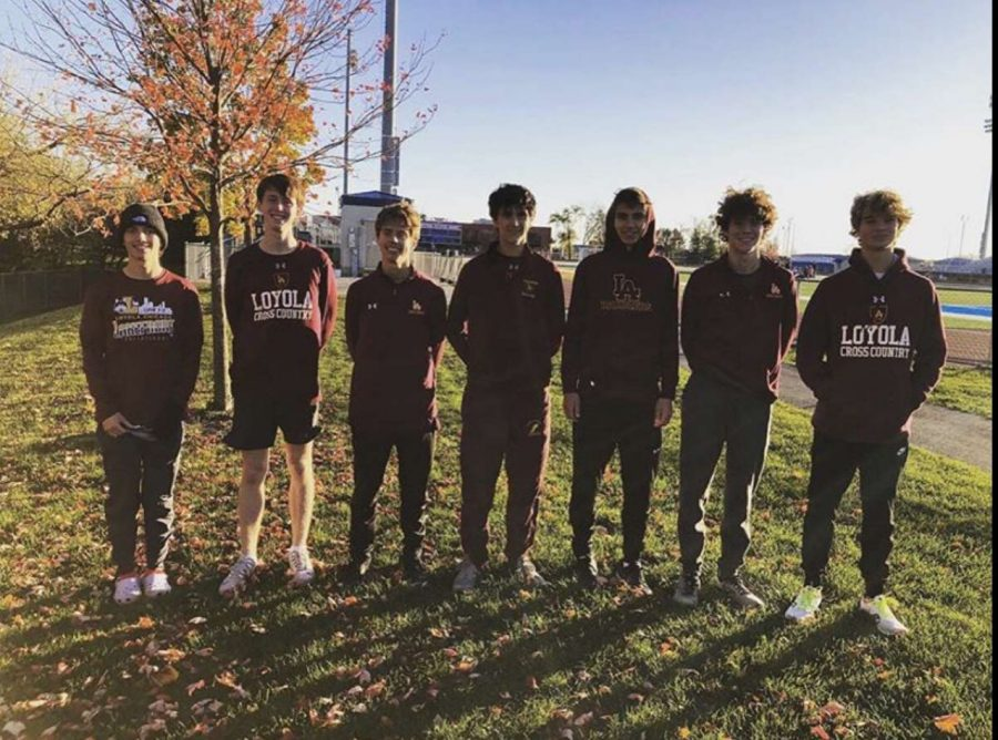 Men's XC Qualifies for State