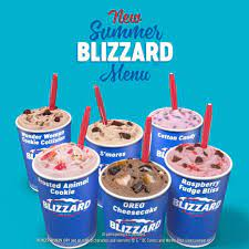 DQ announced its summer blizzard flavors for 2021. Get them while it