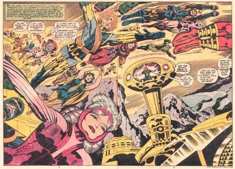 Marvel Universe Extends to the Eternals