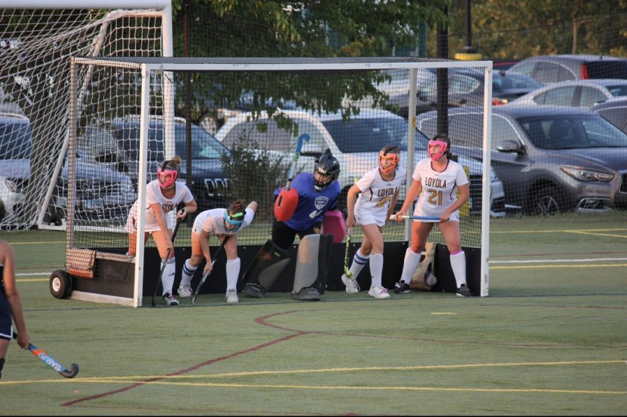 Field Hockey Looks to Bounce Back from Loss go GBS